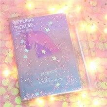 Korean Unicorn Notebook With Pen Schedule Book Diary Weekly Planner For Girls School Kawaii Stationery Gift Set mercii 2016 weekly schedule cute 365 days personal diary planner hardcover notebook diary korean stationery libretas y cuadernos