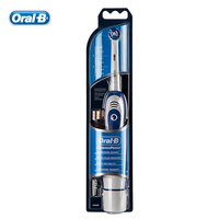Genuine Oral B Electric Toothbrush With AA Battery Toothbrush 1 Holder With 1 Replaceable Brush Head