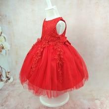 Summer Girl Dress Bowknot Lace Kids Dresses For Girls Party Princess Children Vestido Infantil Kids Girls Clothing