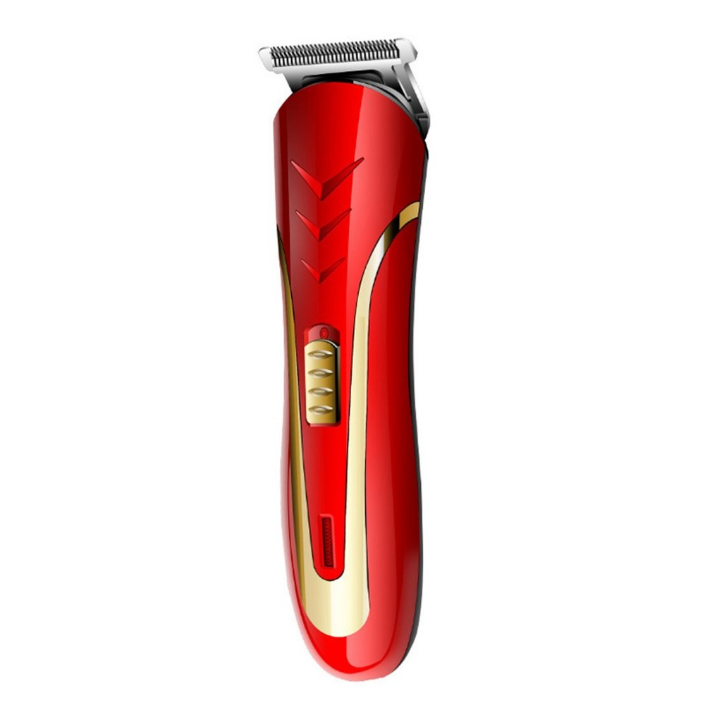 Carbon Steel Head Hair Trimmer EU Plug Rechargeable Electric Razor Men Beard Shaver Electric Hair Clipper