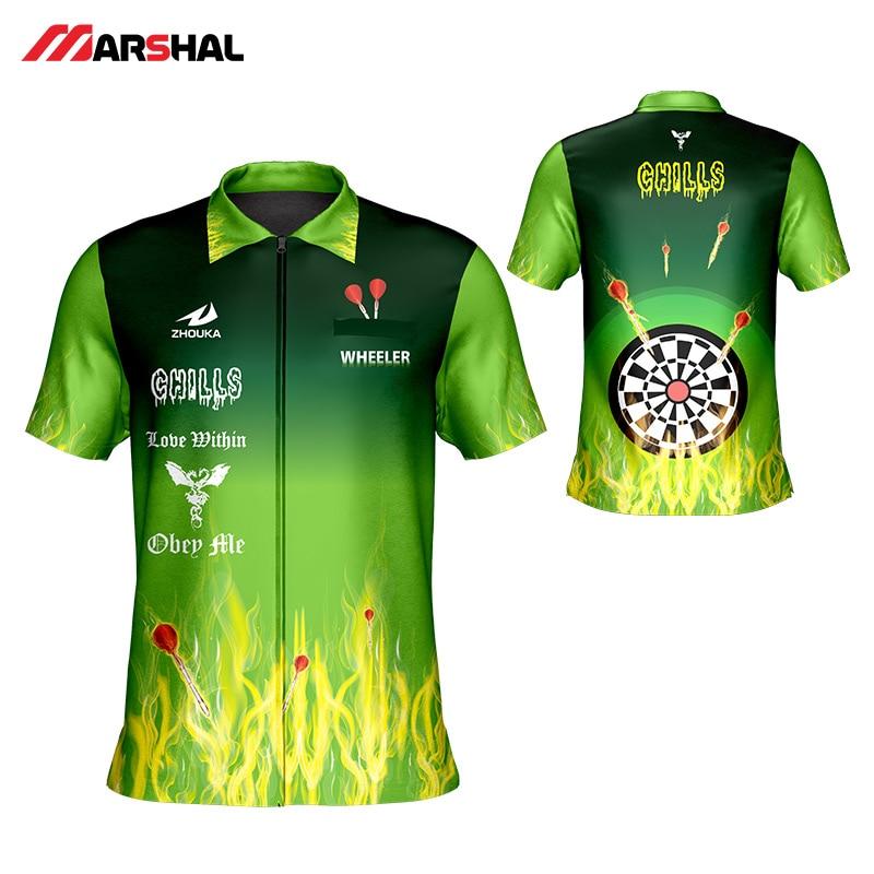 Professional 2019 New Shoot Darts Shirt Men's T Shirt Tops Customizing Make Your Design Dart Jerseys Shooting Shirt For Adult