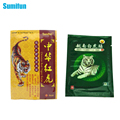 8Pcs White Tiger+8Pcs Chinese Red Tiger Plaster Muscle Massage Relaxation Herbs Medical Health Care Plaster Joint Pain D0050