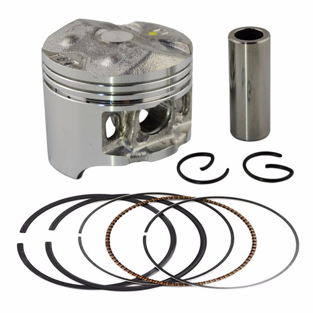 Bore Size 49mm Motorcycle Pistons and Rings Clips Pin Kit For HONDA CB250 Jade 250 Hornet 250 MC23 (Oversize 0.5mm)