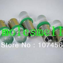 10 шт. T10 T11 BA9S T4W 1895 3 В зеленый светодиодные лампочки для Лионель флаер Маркса