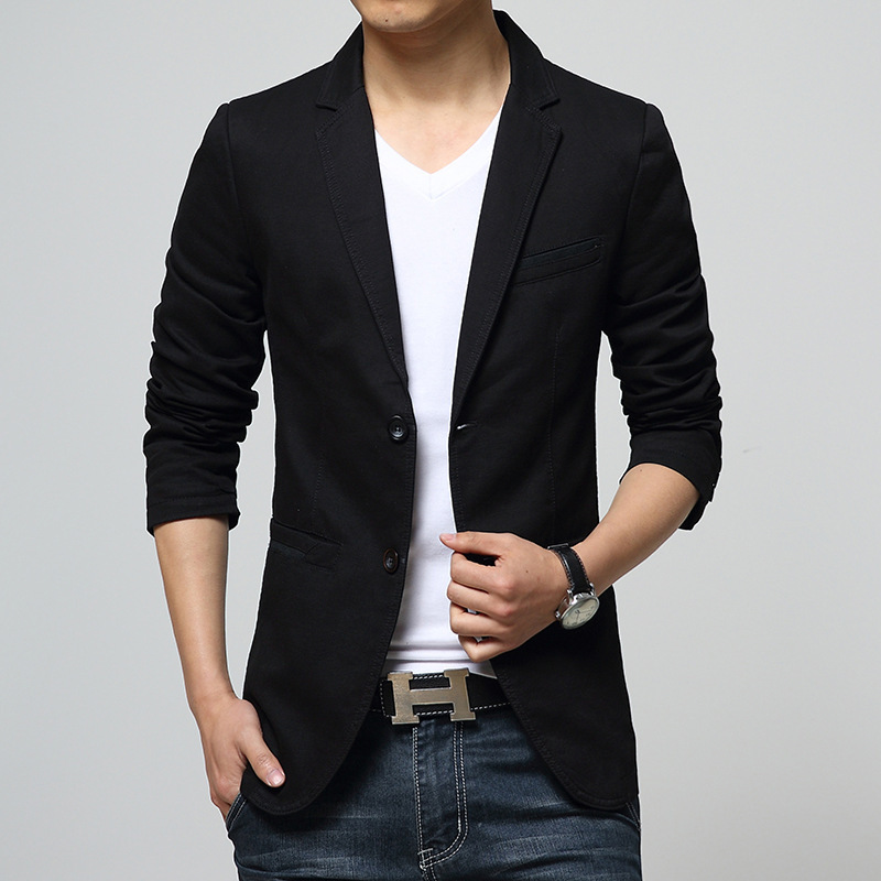 Detail Feedback Questions about 2019 new arrival slim mens blazer ... bce1558ed