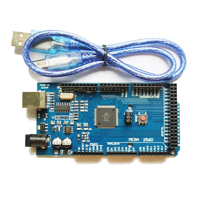 Rampes 1.4 Kit Mega 2560 R3 pour arduino + rampes 1.4 contrôleur + 5 pièces A4988 Module de pilote pas à pas + PCB Heatbed MK2B kit d'imprimante 3D-in 3D Printer Parts & Accessories from Ordinateur et bureautique on AliExpress - 11.11_Double 11_Singles' Day 3