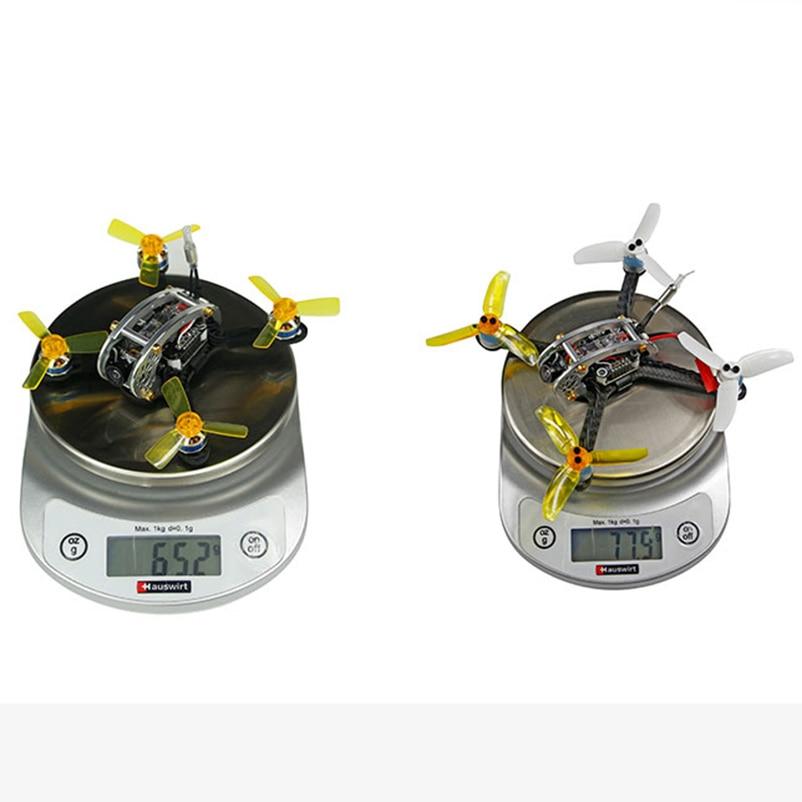 100/130 PNP Unutarnji FPV Racer Mini Brushless Drone KINGKONG Fly Egg - Igračke s daljinskim upravljačem - Foto 5