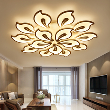 New modern led ceiling lights for living room bedroom dining room acrylic iron body Indoor home ceiling lamp lighting fixtures