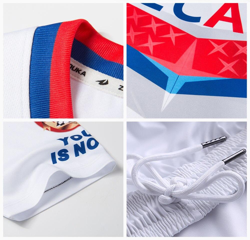 In Zhouka Mode Männer Training T Shirt Für Fußball Lauf Gelb Sublimation Druck Fußball Jersey Shirt Kurzarm Tops Modischer Stil;