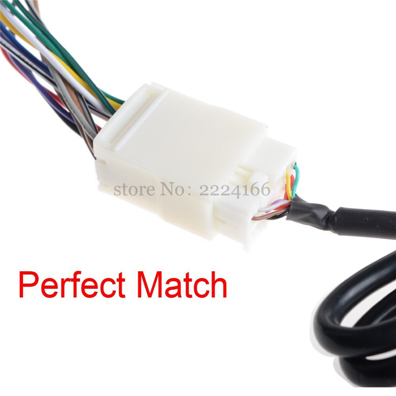 New Y Wire Harness Aux Splitter Cable CD Changer Adapter for Honda Honda Accord Wire Harness on