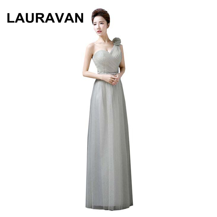 vestidos size 2 festa long sweetheart one shoulder gray tulle   bridesmaid     dress   grey   dresses   formals under 150 ball gown