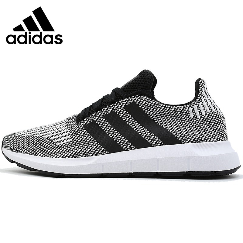 the best attitude fac38 1a6b4 US $119.26 35% OFF|Original Adidas Originals Swift Run Men's Running Shoes  Sneakers Outdoor Sports Athletic Breathable Massage Stability B37734-in ...
