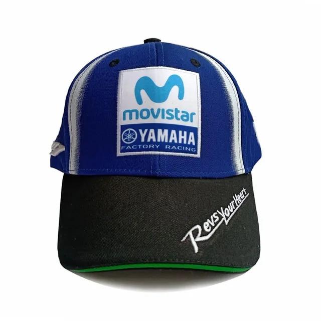 2019 New Arrival Motorcycle Baseball Cap MOTO GP 3D Embroidered F1 Racing YAMAHA Racing Men Women Snapback Hats Cap High Quality