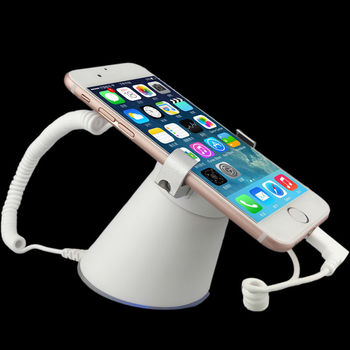 Cell Phone Anti-theft Display Alert Gripper Atni-lost Mobile stand Alarm Sensor with Charge for Iphone Huawei Samsung OPPO VIVO