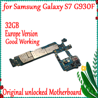 New Arrival MainBoard For Samsung Galaxy S7 G930F Original Factory Unlocked Motherboard With IMEI Android OS Logic Board