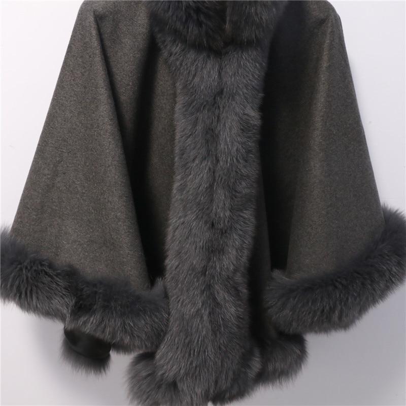 Brezplačna dostava Nova moda plemenita lisica krzneni plašč - Oblačilni dodatki - Fotografija 6