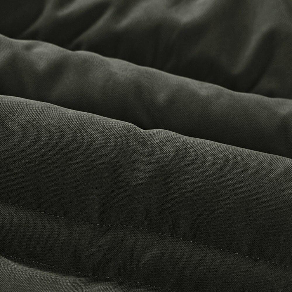 Taille Outwear Velours Hommes Chaud Rembourré La Automne Hiver Coton Coupe Manteau Épaissie Vestes Plus vent gH61Xqp1