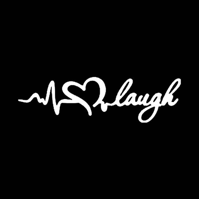 Live Love Laugh v2 Funny Lady Driven Kiss Woman Girl JDM Car Vinyl Sticker Decal