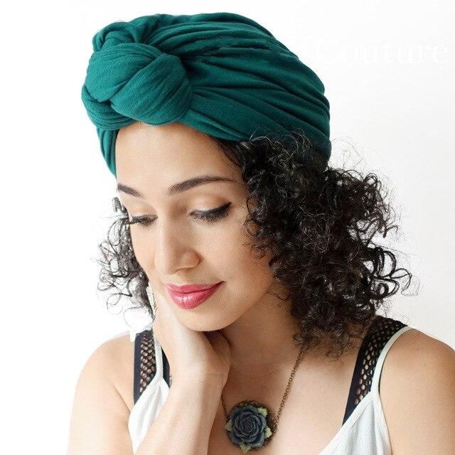 Bohemia Autumn And Winter Hairband Turban For Women Tie Knot Bandanas  Headwear Girls Hair Accessories Hair Bands Cap 9ae32941007