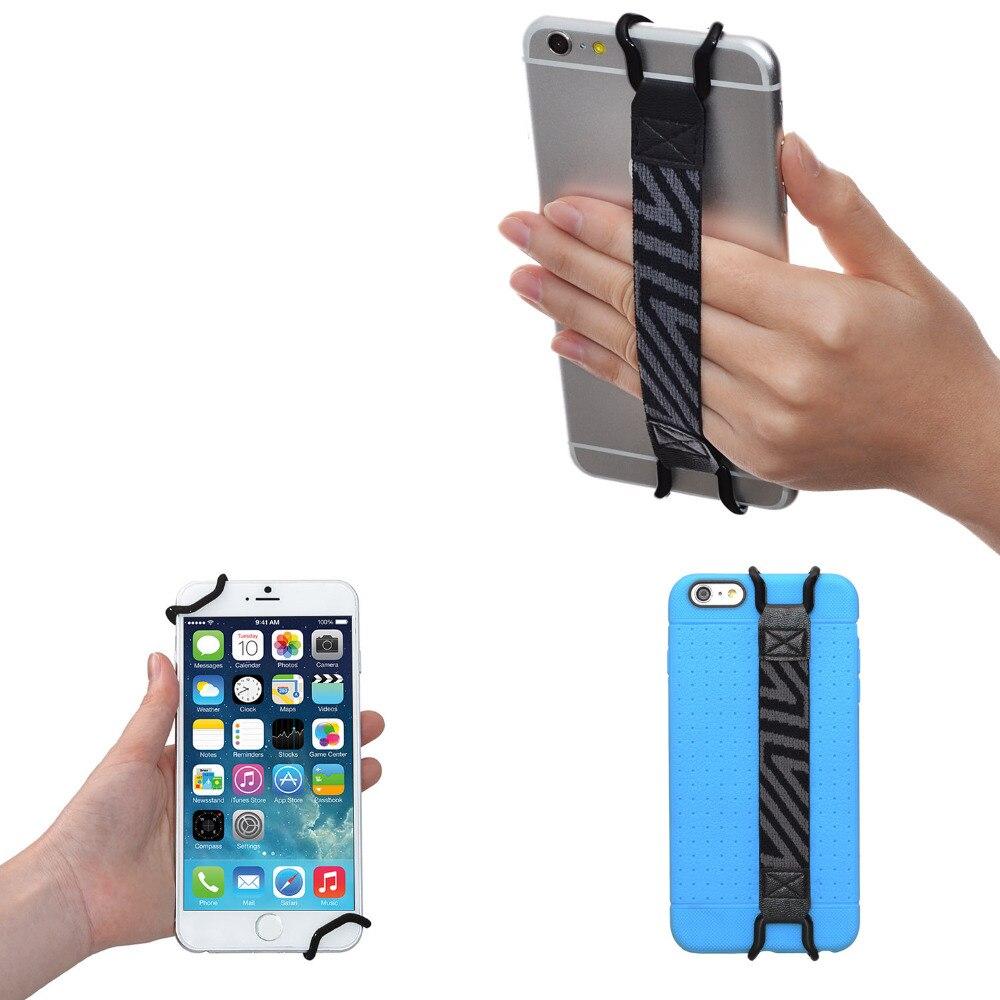 imágenes para Tfy seguridad correa de mano soporte para iphone 5s/se/6/6 s/7 (más)-samsung s4/s5-galaxy note 2/3/4 y más