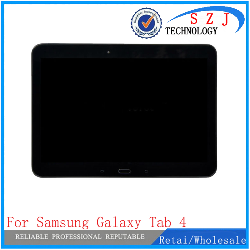 New 10.1'' inch case For Samsung Galaxy Tab 4 T530 T531 T535 LCD Display + Touch Panel Screen Glass Digitizer Assembly + Frame