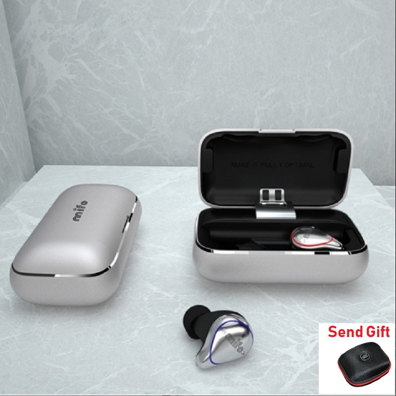 New Mifo O5 Bluetooth 5.0 True Wireless Mini Earbuds In-Ear HIFI Headset Binaural Waterproof Earphones with Charging box NBA mif