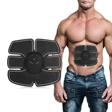 Body Slimming Shaper Machine Abdominal Muscle Trainer Battery Fitness Toner Electric Muscle Stimulator Massager Workout Trainer health care multi function body massager electric pulse treatment abdominal muscle trainer stimulator intensive slimming tool