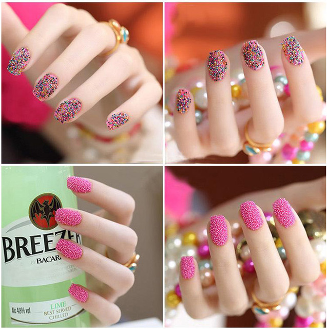 12 Box Mixed Colors Tiny Beads for Nail Art