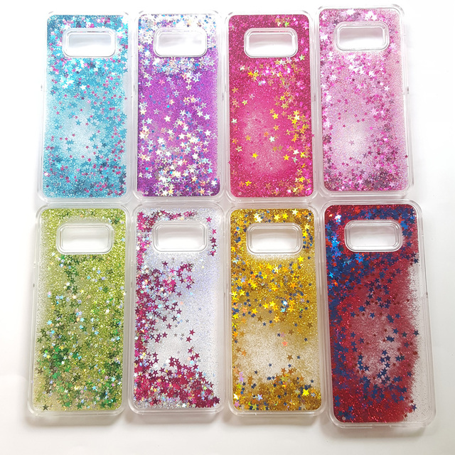 Luxury Quicksand Glitter Stars Pailette Flowing Water