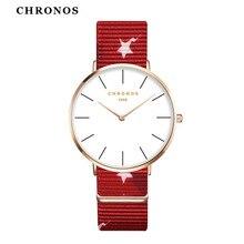 Дропшиппинг Relogios Femininos ультра-тонкий молодежная мода красочные, женские часы мужские нейлон тканые ремешок пару наручных часов