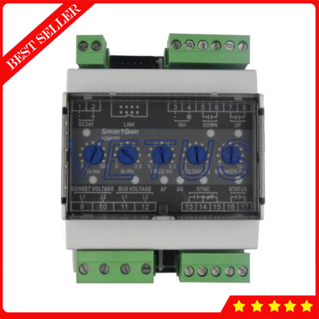 HSM300 Synchronous Module With DC 8 to 35 V Continuous power supply For Ship  and land genset Modular design Synchronous Module