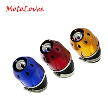 MotoLovee Motorcycle Air Filter 35/48mm Universal Scooter Modification Parts Air- Cleaner Engine For Yamaha Honda