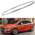 For BMW 2series Active Tourer 218i 220i 2015-2019 Roof Rack Rails Bar Luggage Carrier Bars top Racks Rail Boxes Aluminum alloy