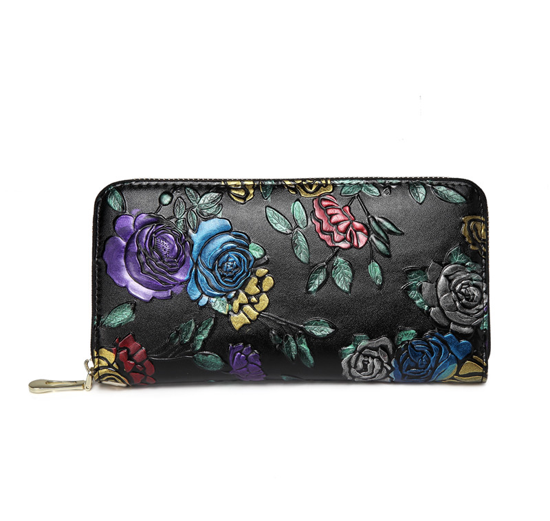 women wallets real leather (2)