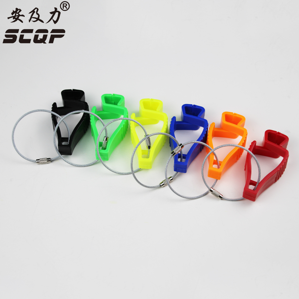 2017 New Style Plastic Gloves Clips Holder Safety Work Glove Remove Hole From Glove Guard With Extra 2 Piece Wire Ring AT-12
