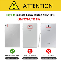 galaxy tab For Samsung Galaxy Tab S5e 10.5 Case PU Leather Slim Folding Stand Cover Case For Galaxy Tab S5e 10.5 inch 2019 SM-T720 T725 (2)