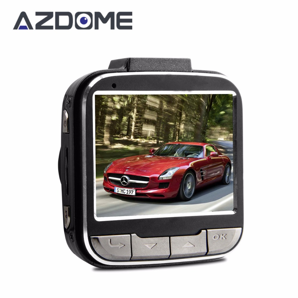 imágenes para Azdome GS52D Mini Coche DVR de Ambarella A7LA50 Full HD 1080 P 30fps 2.0 pulgadas LCD Con HDR G-sensor GPS Dash Cámara Grabadora de Leva H25