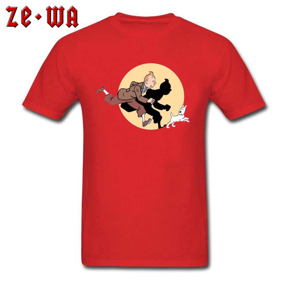 «Приключения Тинтина» мультфильм комикс футболка Фокстерьер Снежная собака мода смешной Тинтин время приключений футболка мальчик толстовки