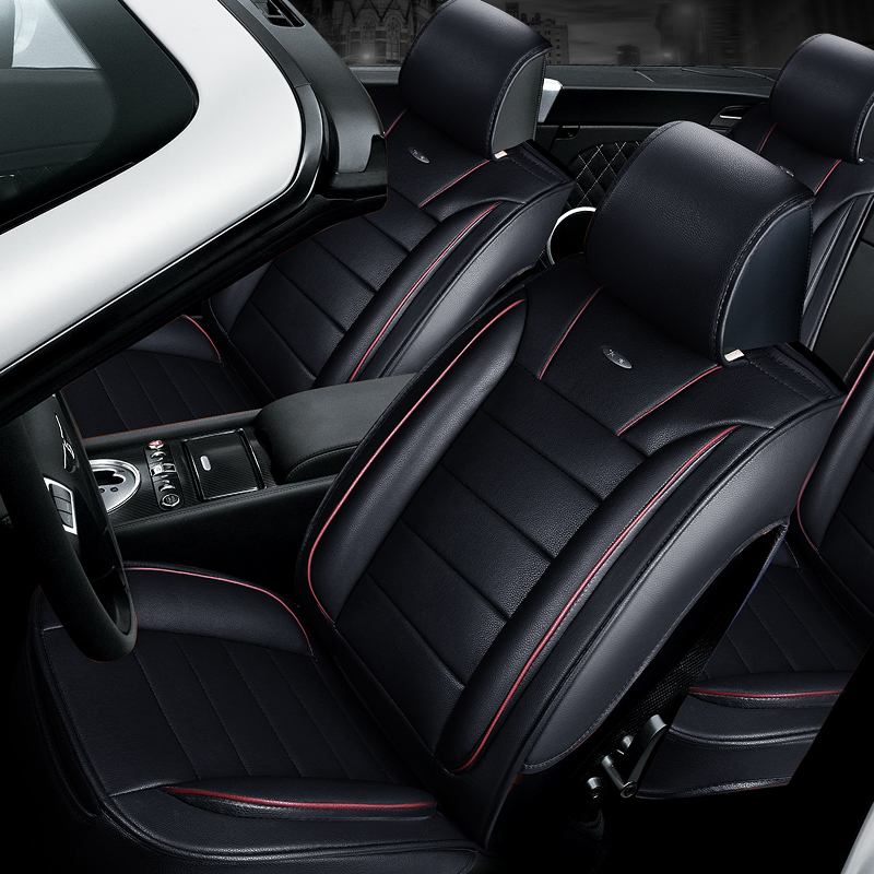 New Customization font b Car b font Seat Cover General Cushion Artificial Leather font b Car