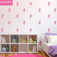 240pcs Unicorn Horse Pattern Wall Stickers Children S Room Baby Room Classroom Bedroom Birthday Party Wall