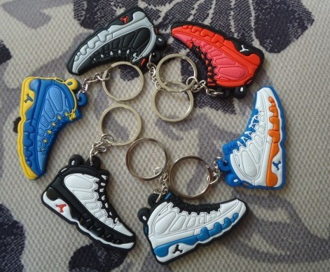 f9db577f7ed 125pcs Jordan models sneaker 1 2 3 4 5 6 7 8 9 10 11 12 13 generations  jordan keychain jordan shoes retro freeshipping