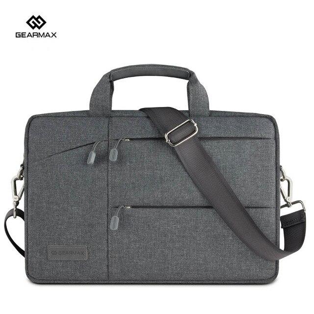 """Saco do mensageiro laptop ultrabook bolsa de manga para macbook air pro retina11 """"12"""" 13 """"polegadas notebook luz suave à prova d' água bolsa de ombro 13"""