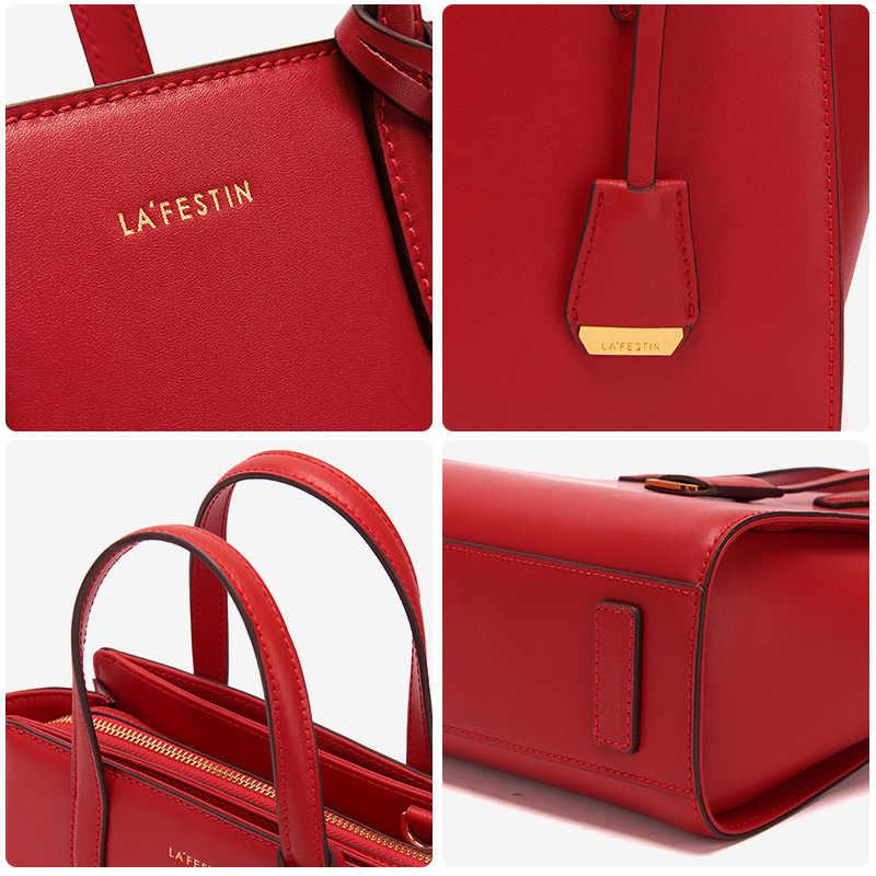 LA FESTIN роскошная женская сумка кожаная сумка через плечо модная сумка-мессенджер женские Сумки Дизайнерская Высокая емкость