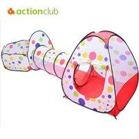 Outerdoor Actionclub Dzieci Grać Namiot Dzieci Duże Flodable Gry Dom Dziewczyny Boys Baby Zabawki Namioty Na Zewnątrz Zabawy i Sporty