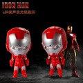 Shippping libre de DHL 200 unids/lote 2015 plástico LED Iron Man llaveros con el sonido los niños de la novedad juguete llaveros