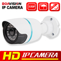 1.0MP CCTV Rede IP Câmera de Segurança Visão IR Cut P2P Nuvem Câmera de Vigilância Ao Ar Livre À Prova D' Água HD 720 P Bala IP câmera