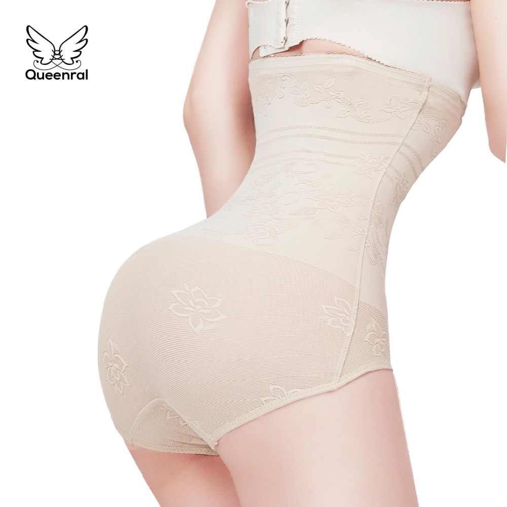 a3101b0768f waist trainer butt lifter slimming belt body shaper Lingerie Slimming  Sheath Belly Womens Underwear Control Briefs