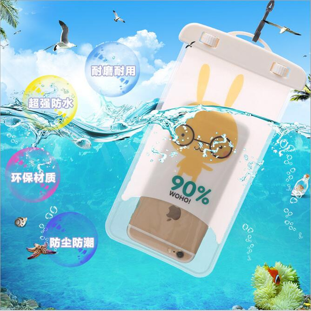 "Universal Waterproof Case For Motorola Moto G Turbo Edition X Force Play Style Cover WaterProof Pouch Max 6"" Phone"
