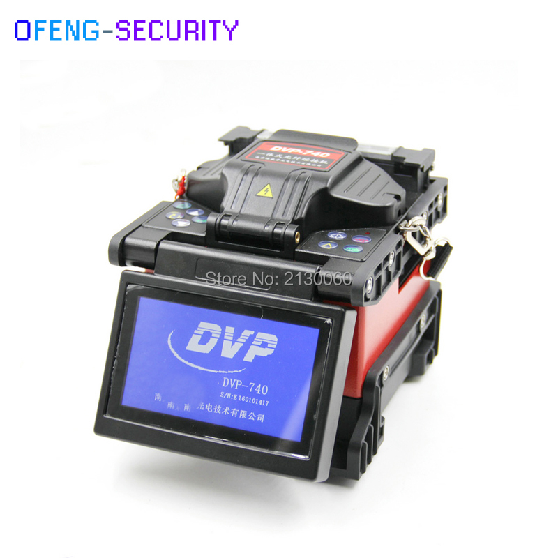 Multi-language 100% Original Brand New DVP740 Optical Fiber Arc Fusion Splicer FTTx / FTTH Fiber Optic Splicing Machine DVP-740