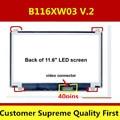 11.6 светодиодный экран N116BGE-L41 B116XW03 V.2 Для ACER 0ne 725 испытание 100% перед отправкой 1366*768 40 pins